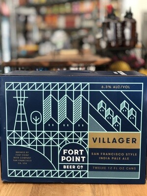 Fort Point Villager IPA 12P