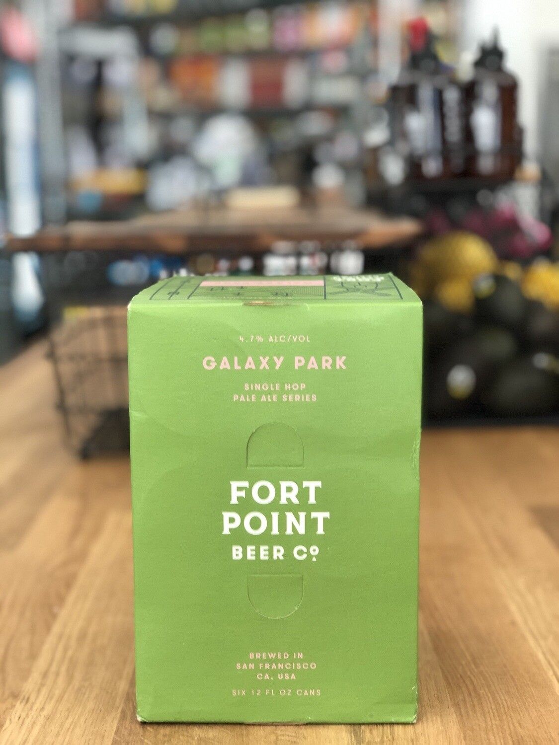 Fort Point Galaxy Park Can 6P