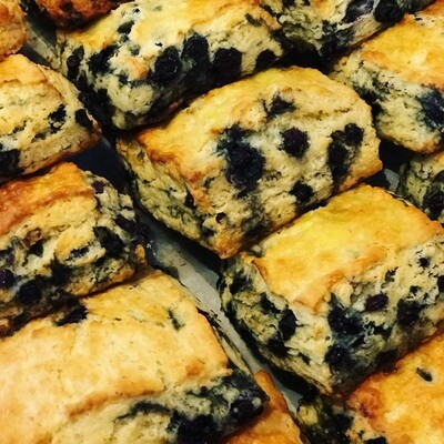 Blueberry Biscuit