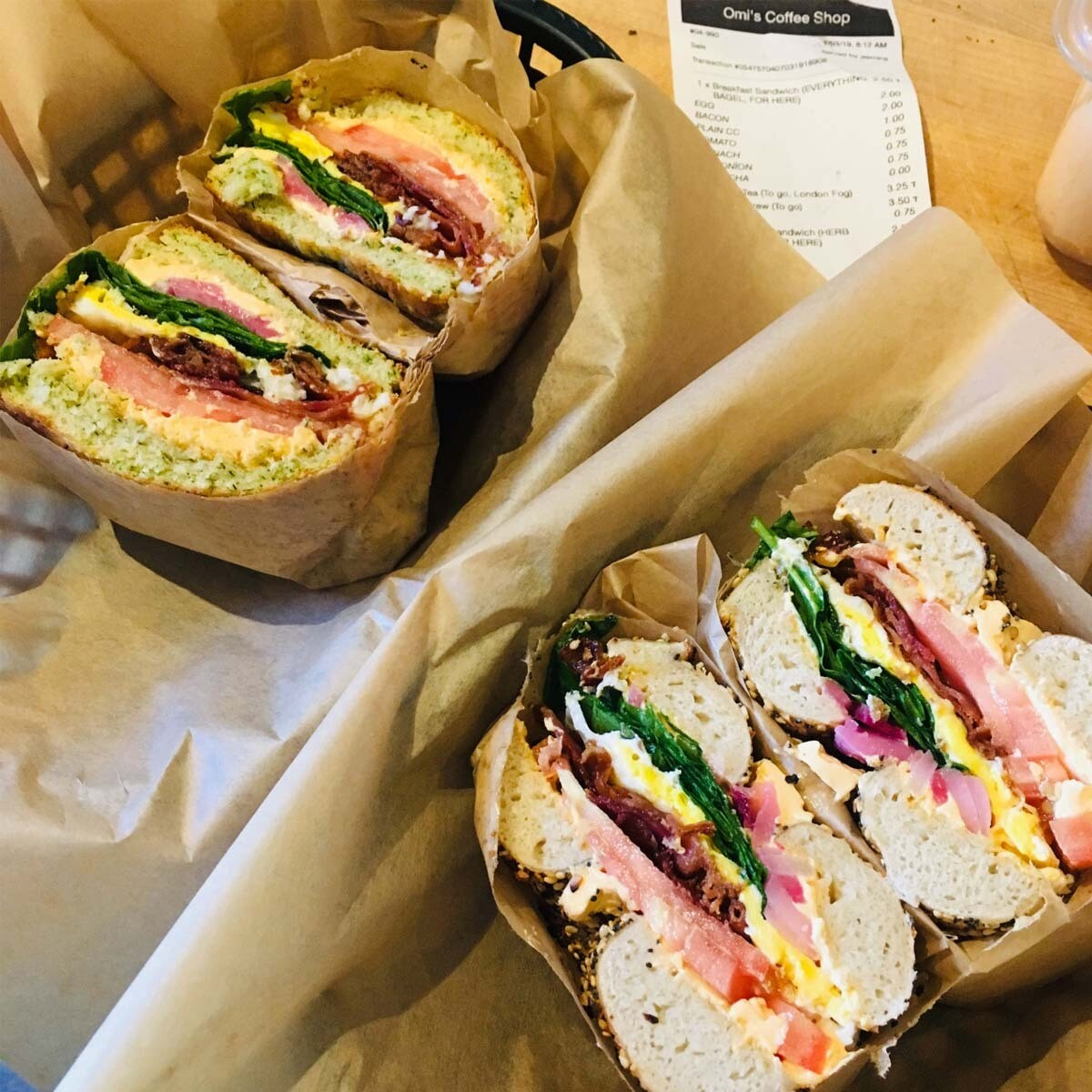 The Basic Beach Sandwich
