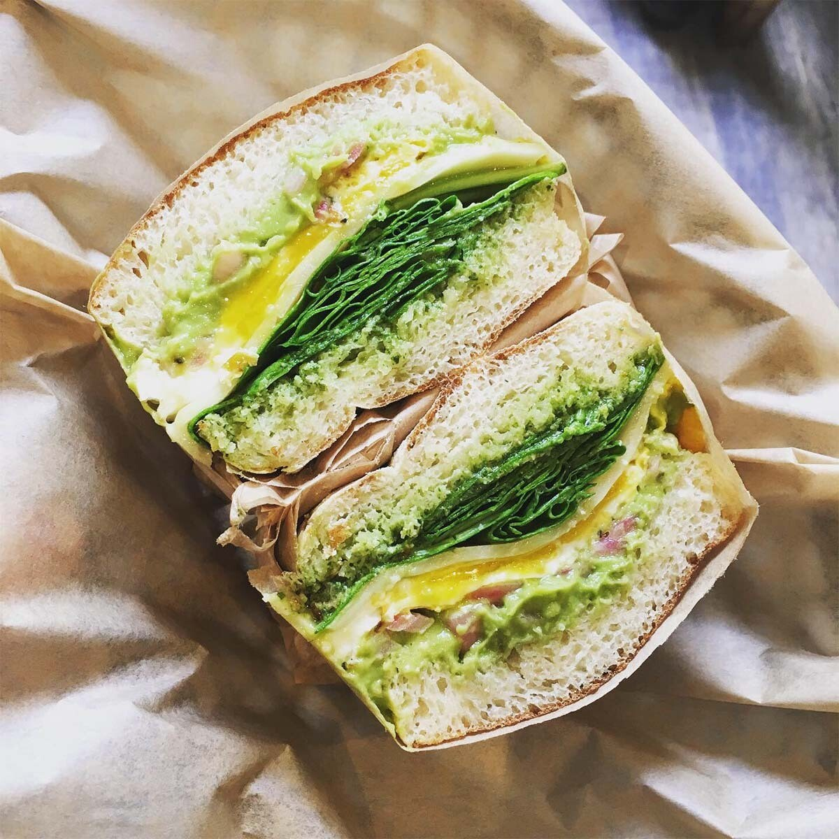 The Green Goddess Sandwich