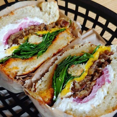 The Rise and Grind Sandwich
