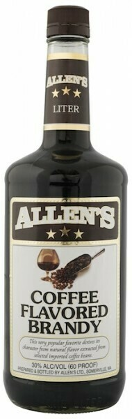 ALLENS COFFE BRANDY 1L