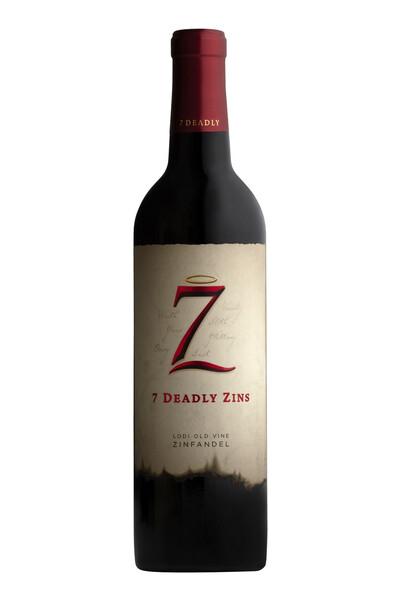 7 DEADLY ZINS ZINFANDEL 750ML