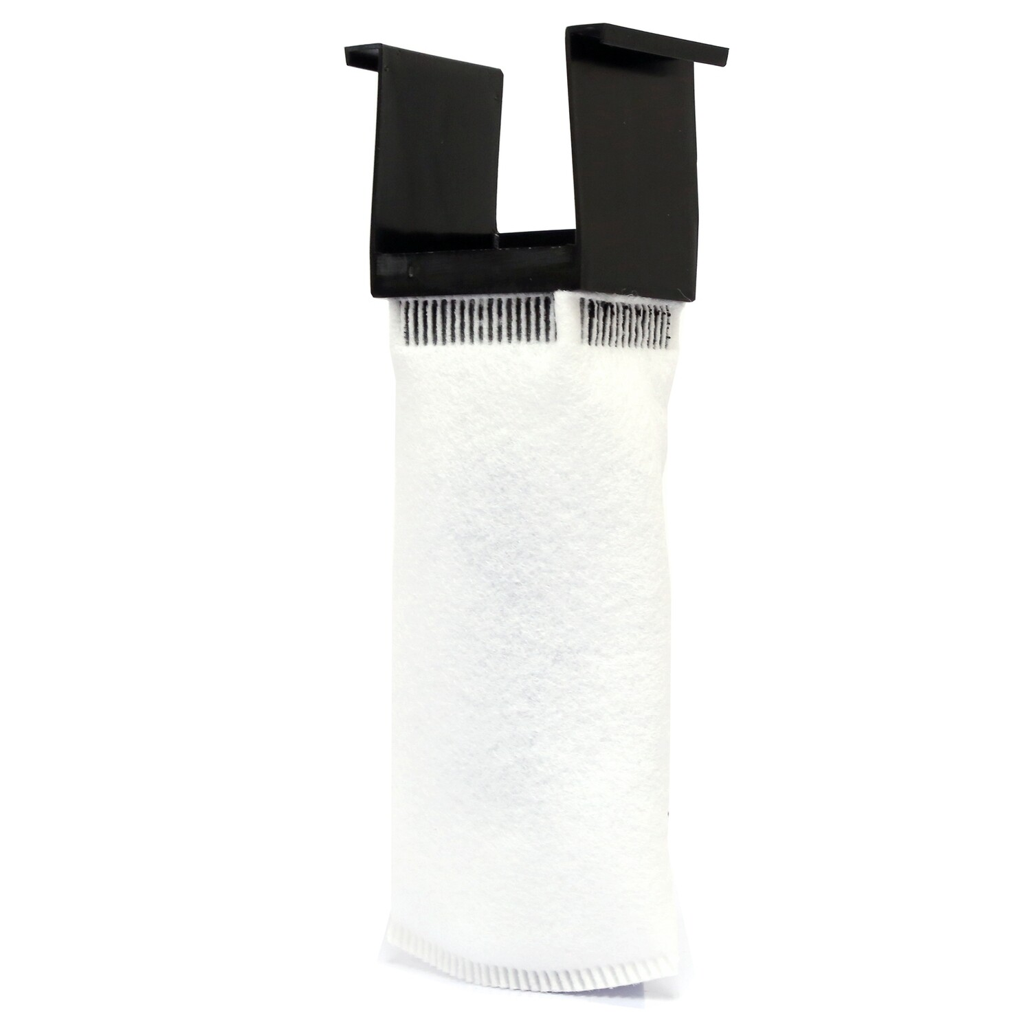 NUVO™ Aquarium 200 Micron Felt Filter Sock w/ Holder [Desktop]