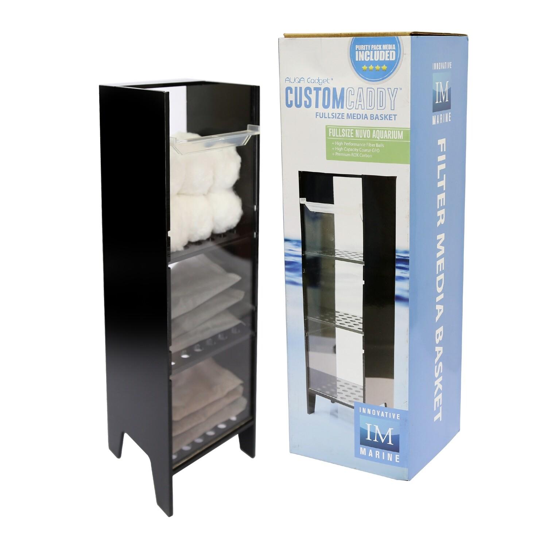 CustomCaddy™ Customizable Filter Media Basket  w/ Media [Fullsize]
