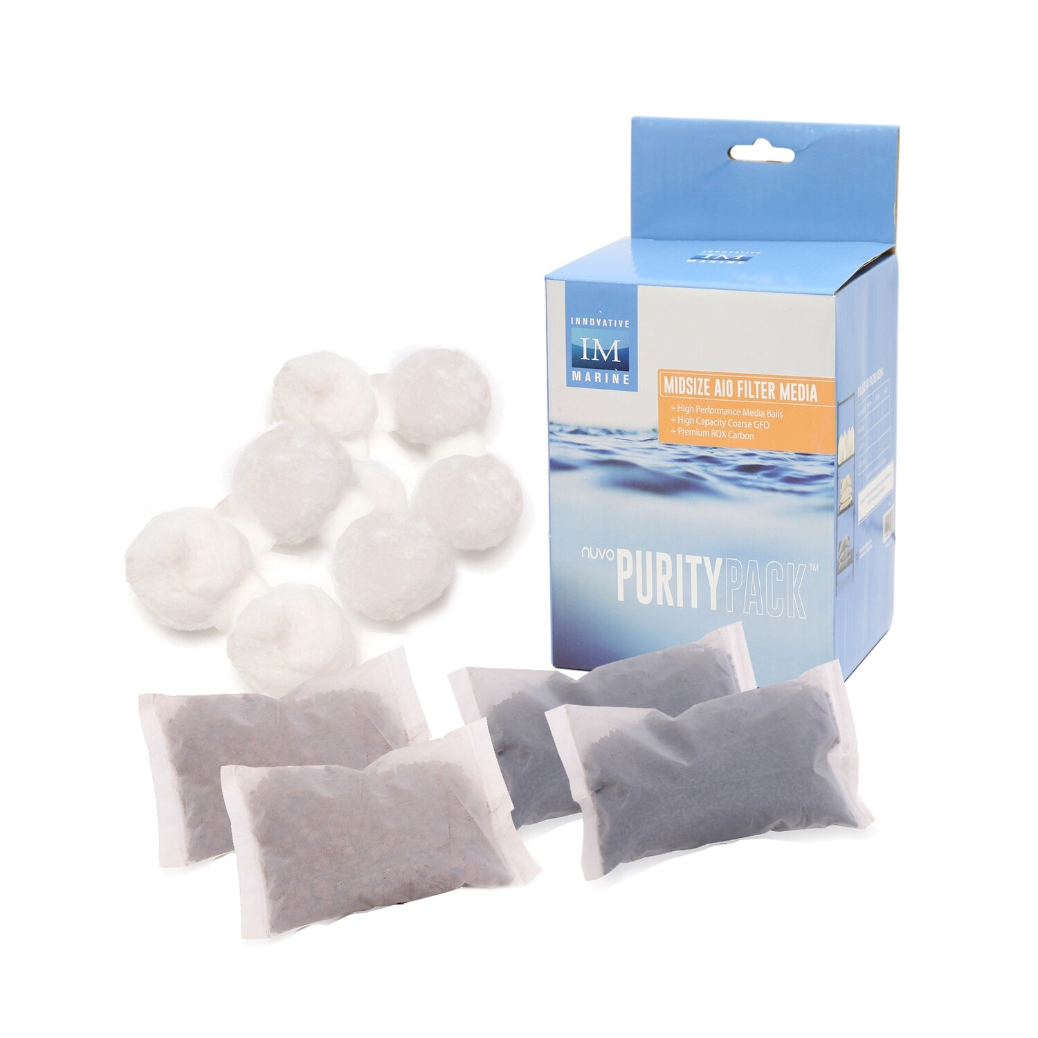 NUVO PurityPack™ Replacement Filter Media [Midsize]