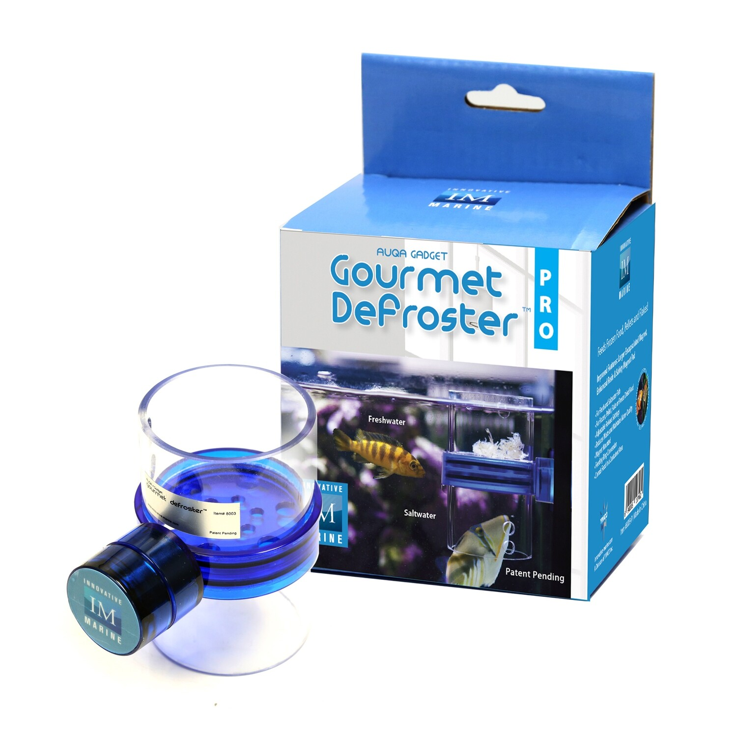 Gourmet Defroster Pro Magnetic Frozen Fish Food Feeder