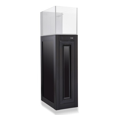 APS Aquarium Stand [Fusion 14 Peninsula] - Black