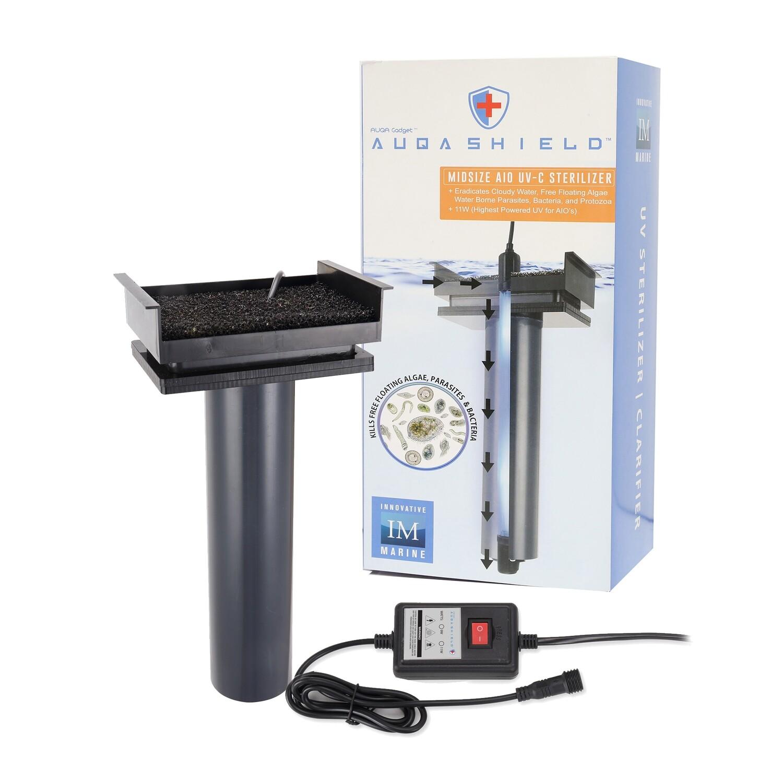 AuqaShield™ 11 Watt UV Sterilizer / Clarifier [Midsize]