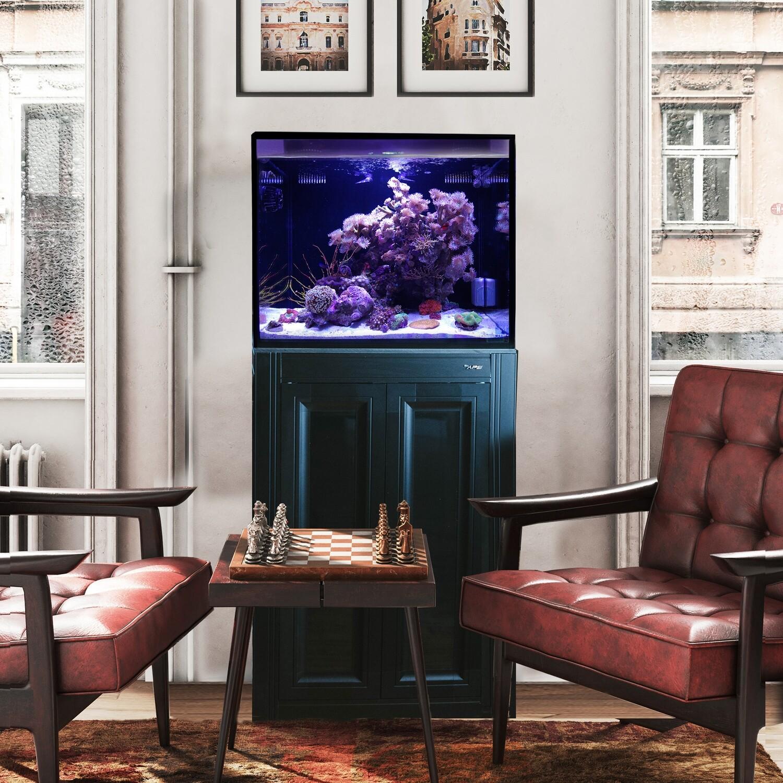 Fusion Pro 40 AIO Aquarium w/ APS Stand - Black