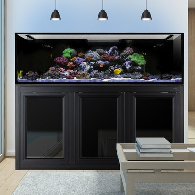 EXT 200 Aquarium w/ APS Stand - Black