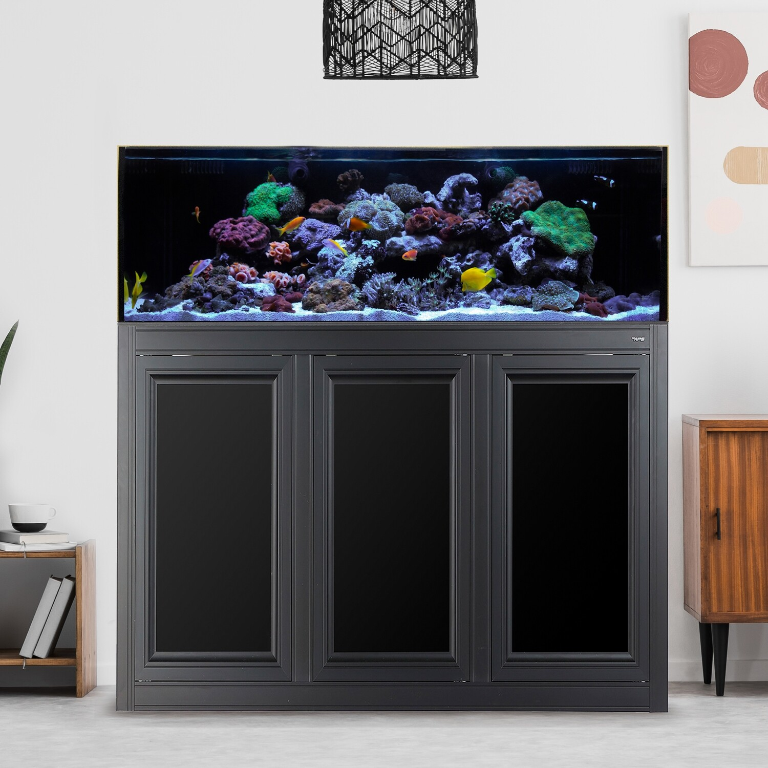 SR Pro 80 AIO Aquarium w/ APS Stand - Black