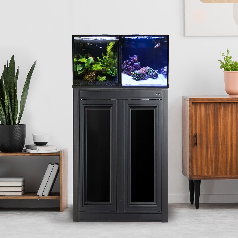 Concept Pro 20 AIO Encore Aquarium w/ APS Stand - Black