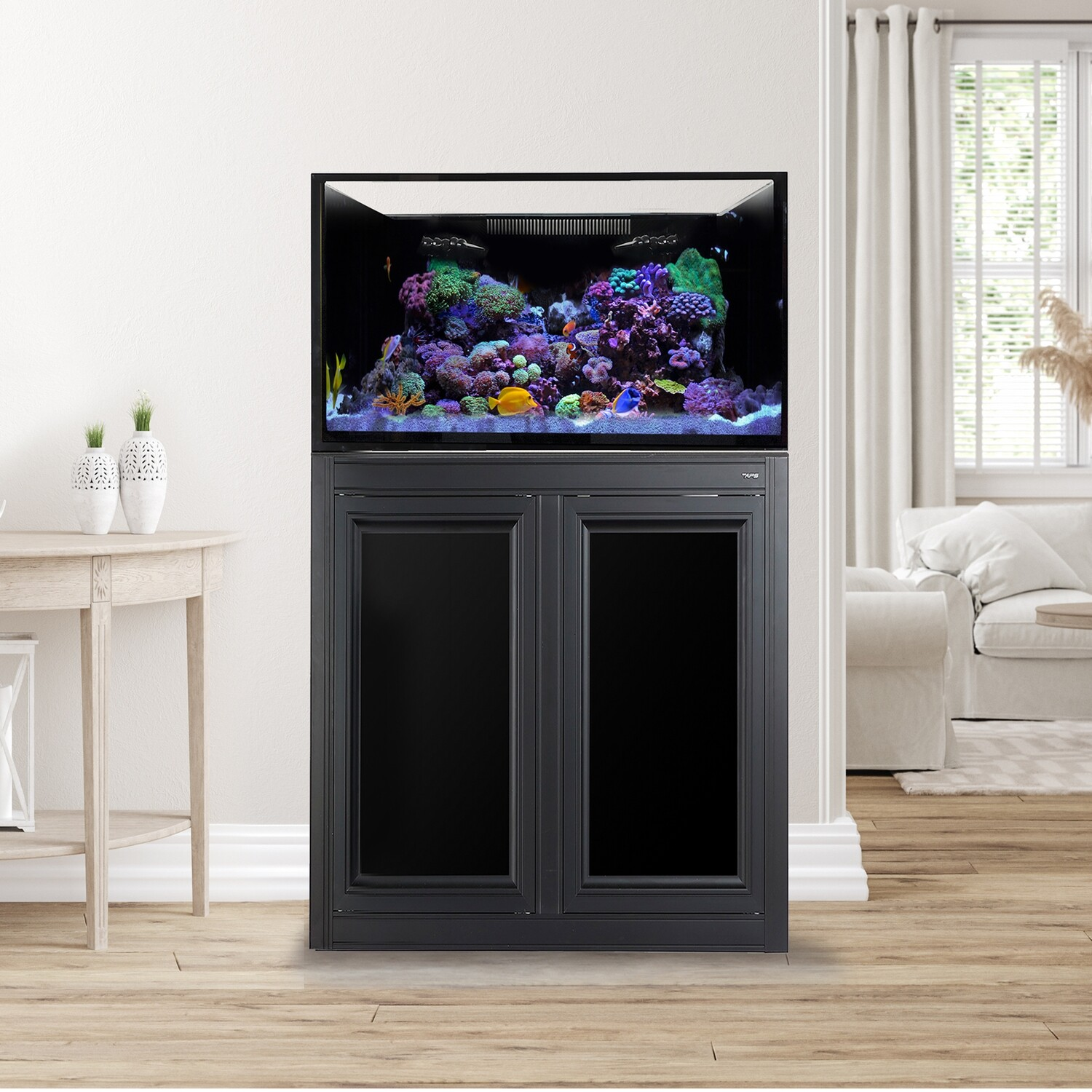 EXT 75 Aquarium w/ APS Stand - Black