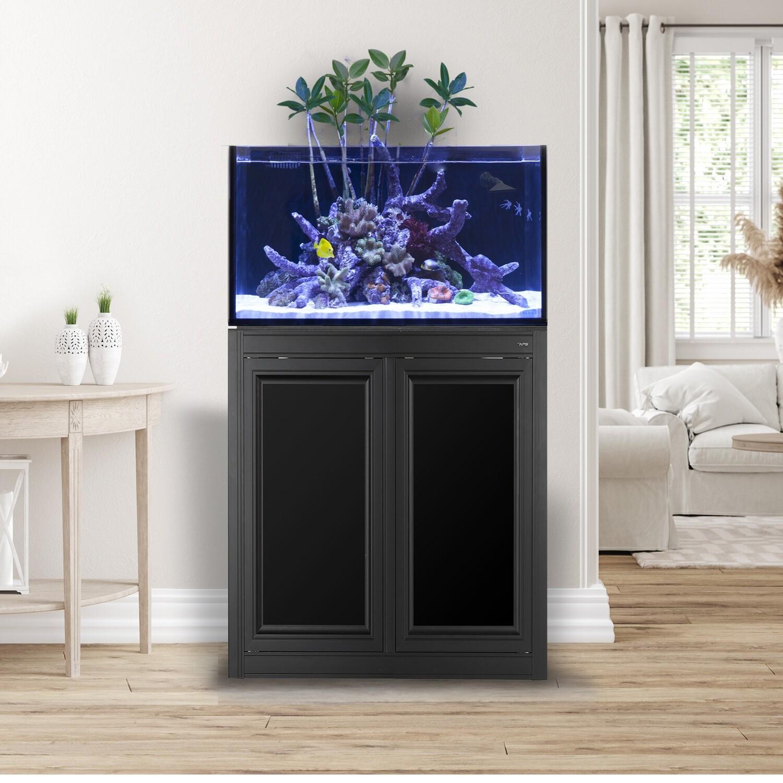 EXT 50 Lagoon Aquarium w/ APS Stand - Black