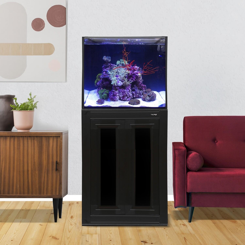 INT 50 Aquarium w/ APS Stand - Black