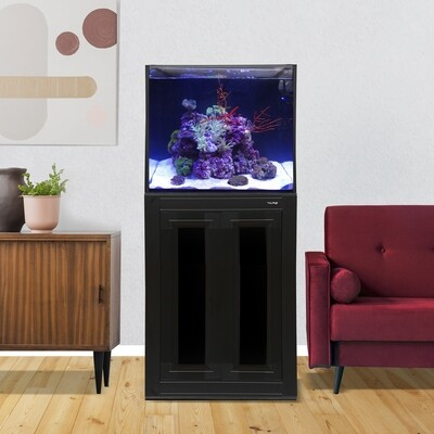 INT 50 Aquarium w/ APS Stand - Black