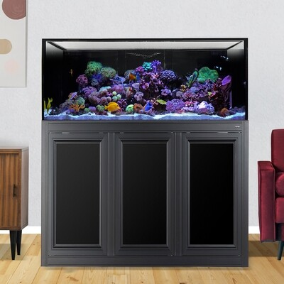 INT 150 Lagoon Aquarium w/ APS Stand - Black