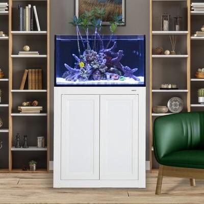 Fusion Pro 50 AIO Lagoon Aquarium w/ APS Stand - White