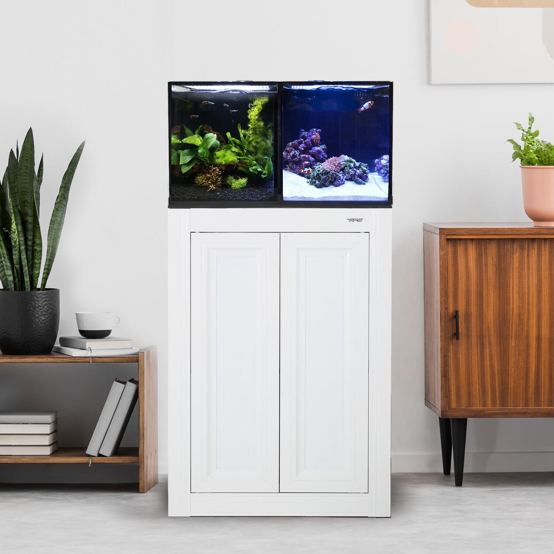 Concept Pro 20 AIO Encore Aquarium w/ APS Stand - White