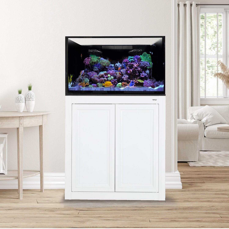 EXT 75 Aquarium w/ APS Stand - White