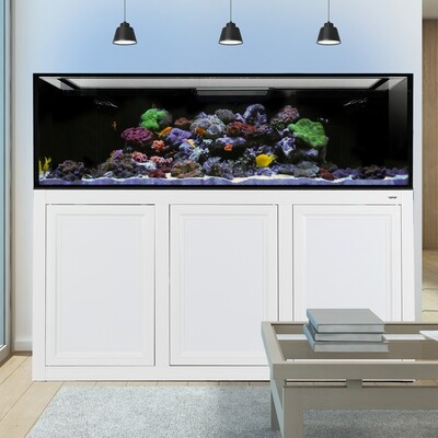 EXT 200 Aquarium w/ APS Stand - White
