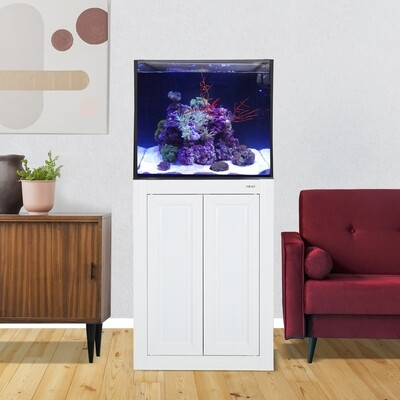 INT 50 Aquarium w/ APS Stand - White