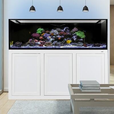 INT 200 Aquarium w/ APS Stand - White
