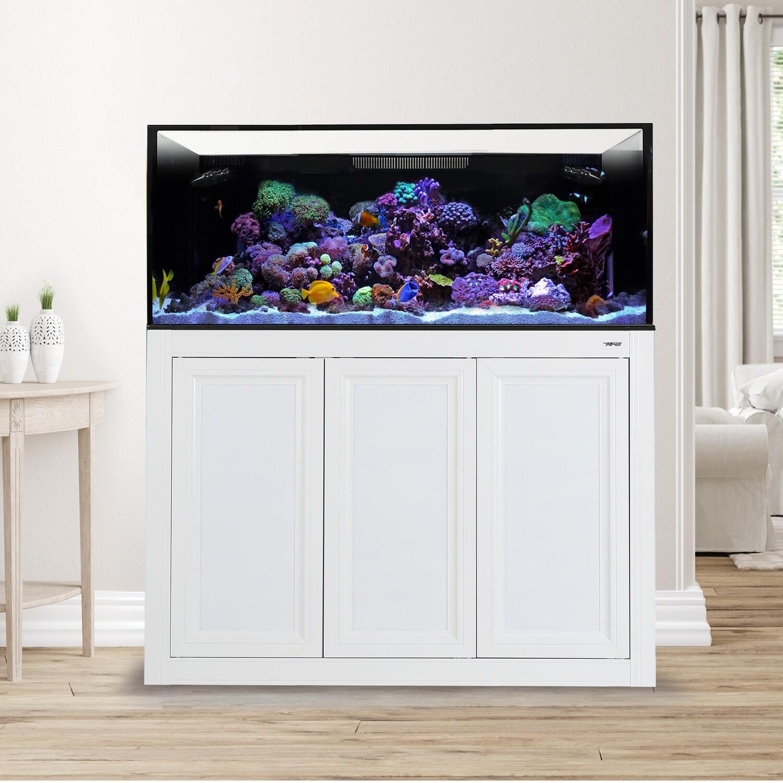 EXT 150 Lagoon Aquarium w/APS Stand - White