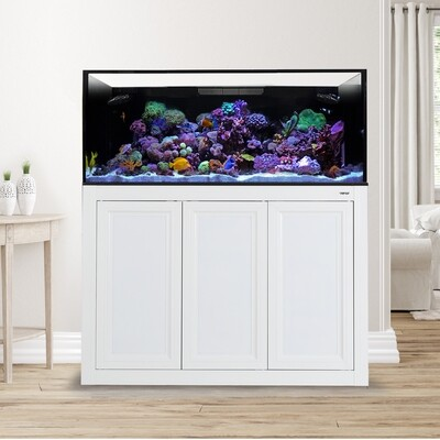 EXT 150 Lagoon Aquarium w/APS Stand - White