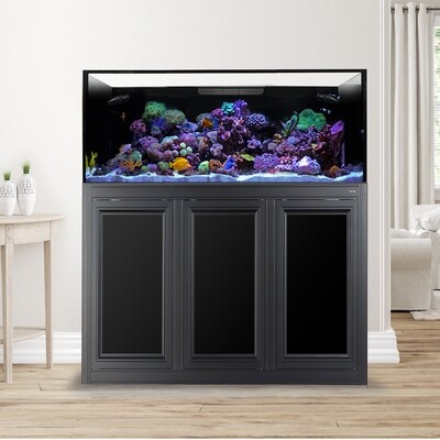 EXT 150 Lagoon Aquarium w/APS Stand - Black