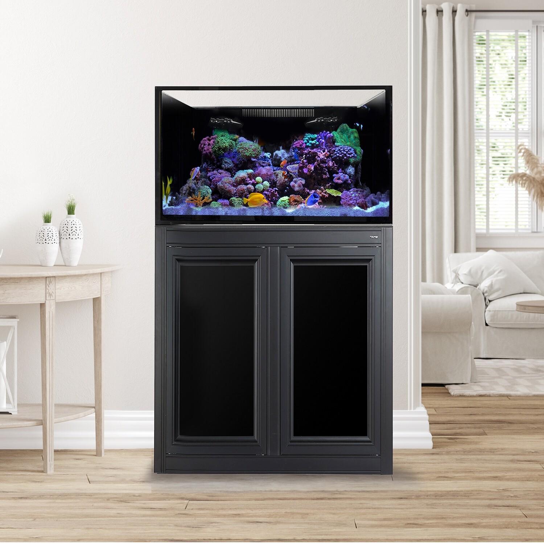 EXT 112 Lagoon Aquarium w/APS Stand - Black