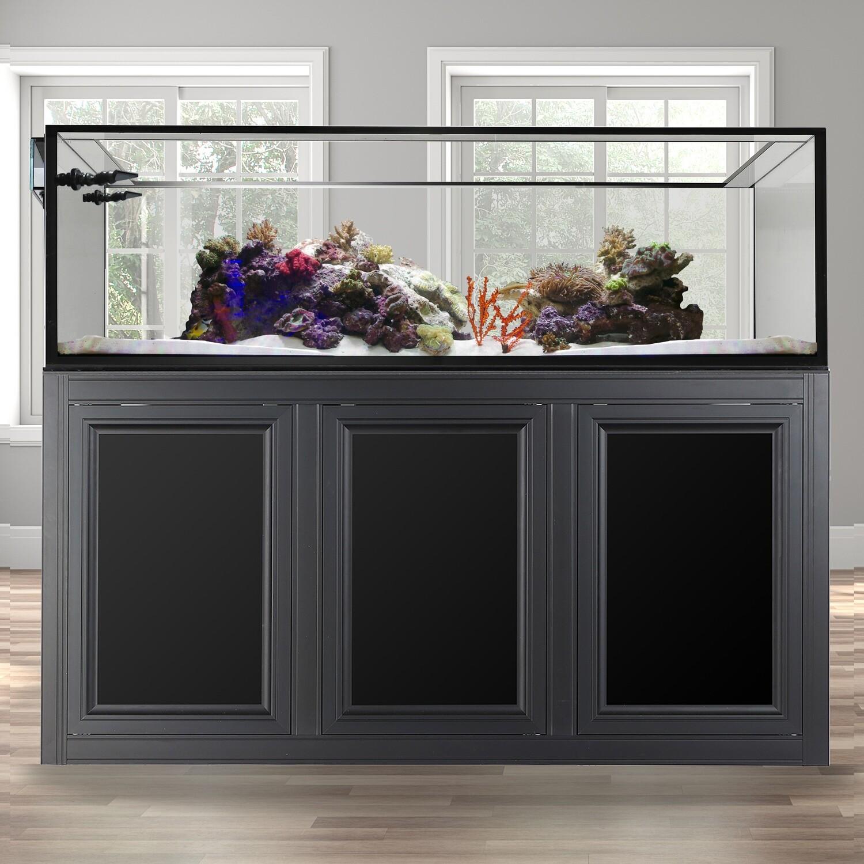 EXT 200 Peninsula Aquarium w/ APS Stand - Black