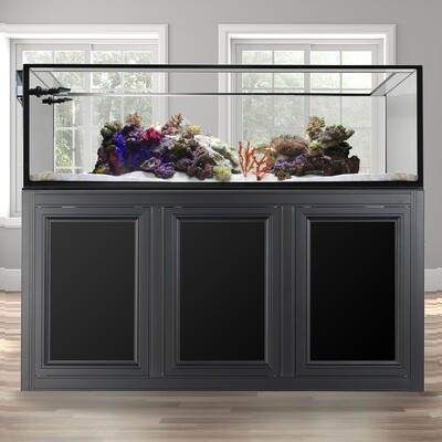 EXT 200 Peninsula Aquarium w/ APS Stand - Black