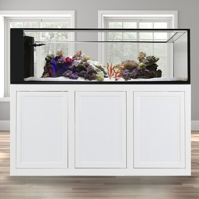 INT 200 Peninsula Aquarium w/ APS Stand - White