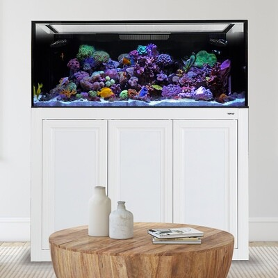 EXT 170 Aquarium w/APS Stand - White