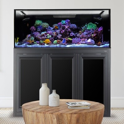 EXT 170 Aquarium w/ APS Stand - Black
