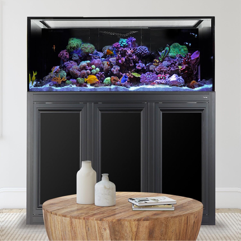 INT 170 Aquarium w/APS Stand - Black