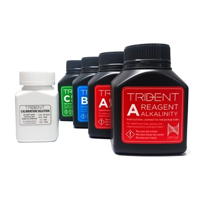 Neptune Systems Trident Reagent Kit - 6 Month Supply