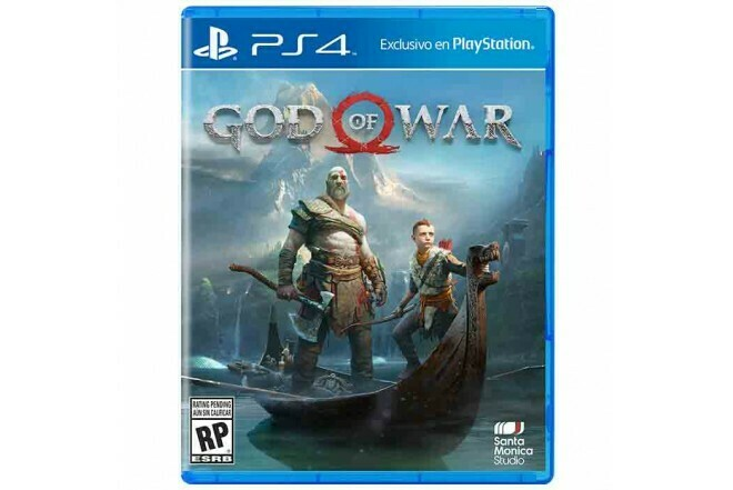 Juego Fisico God Of War PS4