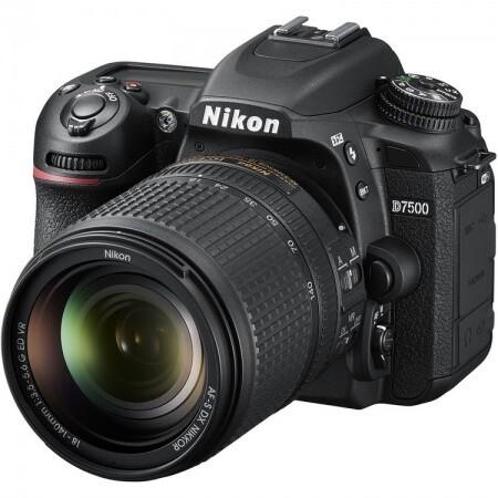 Cámara Nikon D7500 con Lente 18-140mm
