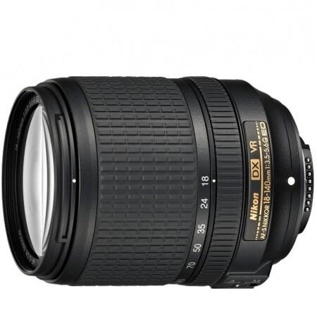 Lente Nikon 18-140mm DX F/3-5.6G ED AF-S VR