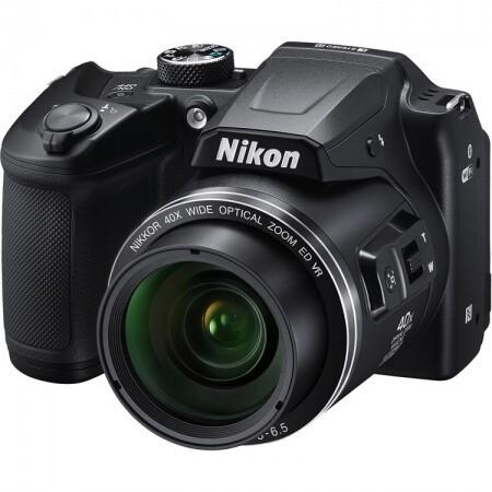 Cámara Nikon B500, 16MP, 40x Zoom, Wifi, Bluetooth