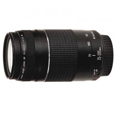 Lente Canon 75-300mm Modelo EF f/4-5.6 III