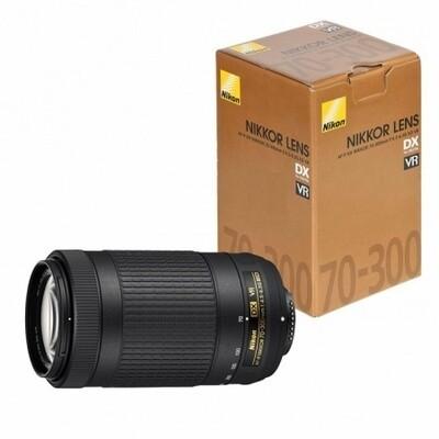 Lente Nikon 70-300mm DX VR Modelo AF-P DX NIKKOR f/4.5-6.3G ED VR