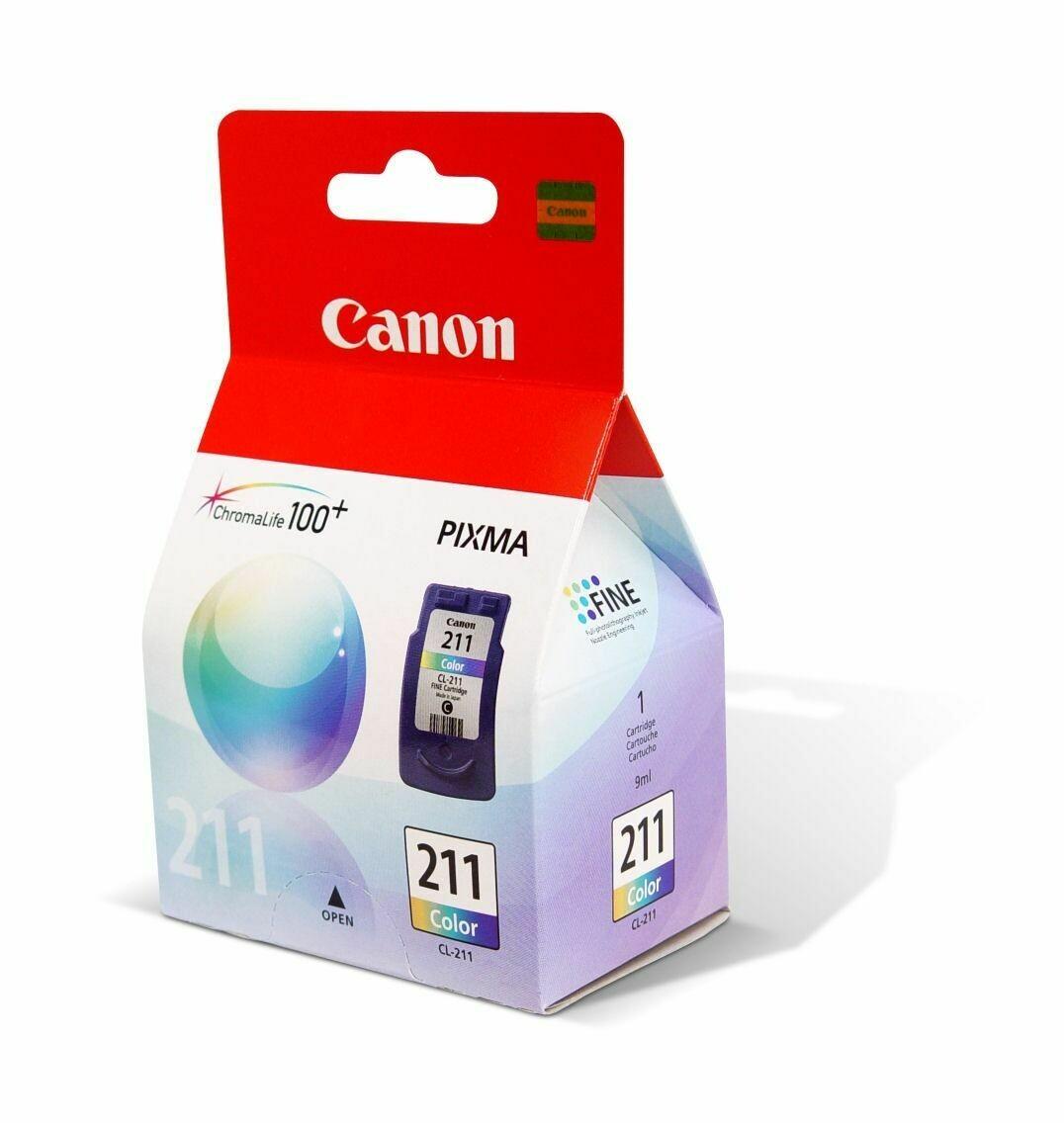 Cartucho original Canon 211 color 9 ml