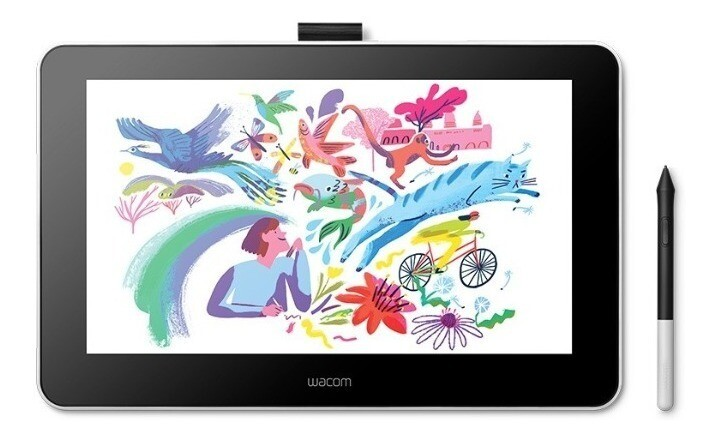 Wacom One DTC133 - Digitalizador con display LCD - diestro y zurdo