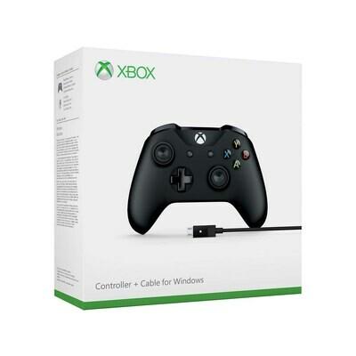 Joystick Xbox One original + cable para Windows