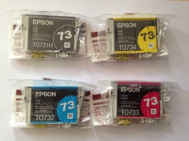 Cartucho 73 Epson original ATENCIÓN: sellado de origen, sin caja.